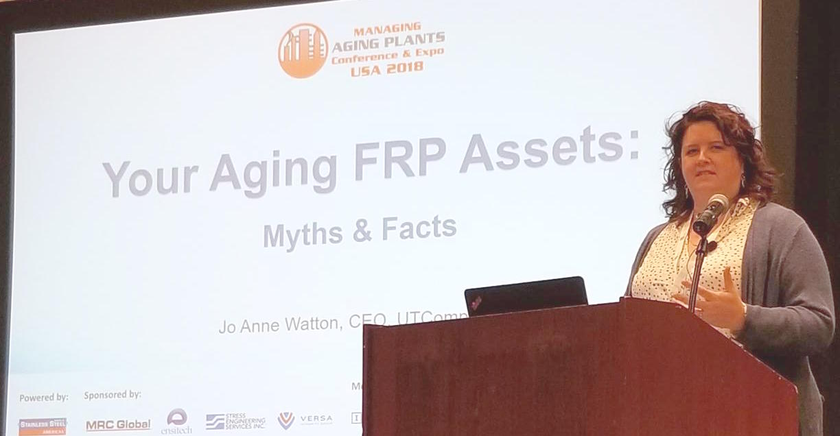 Jo Anne Watton presentation at Managing Aging Plants 2018